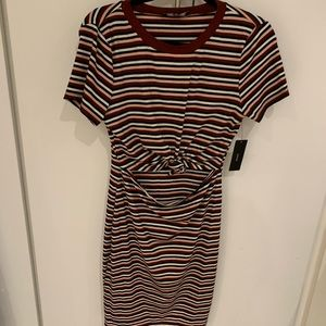 Never worn striped dress